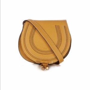Chloe Marcie Small Crossbody Mustard - AUTHENTIC